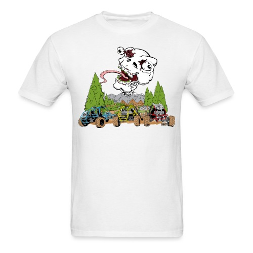 Tri Buggy Cartoon - Men's T-Shirt