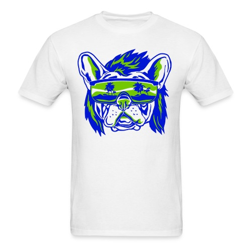Beach Pooch - Men's T-Shirt
