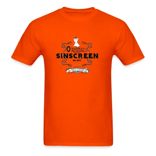 O'Riginal's Sinscreen - Men's T-Shirt