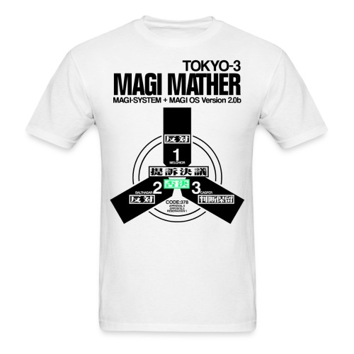 MAGI MATHER (WHITE) - Men's T-Shirt