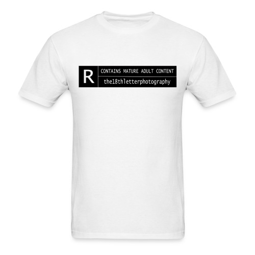 rated r - Men's T-Shirt