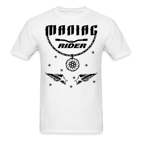 Maniac Rider Downhill Mountainbike bike-rider - Men's T-Shirt