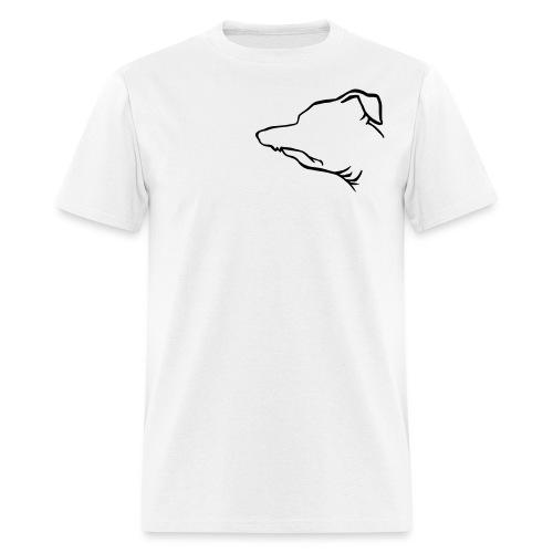 Profile Outline - Men's T-Shirt