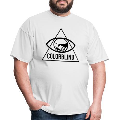 Colorblind Logo Black - Men's T-Shirt