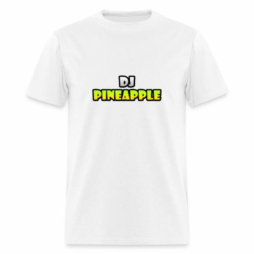 DJ Pineapple Big Logo png - Men's T-Shirt