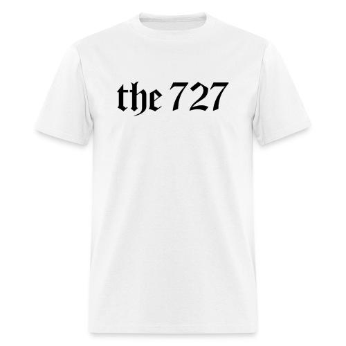 The 727 in Black Lettering - Men's T-Shirt