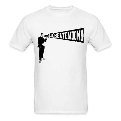 bomani lrgbeatemdown - Men's T-Shirt