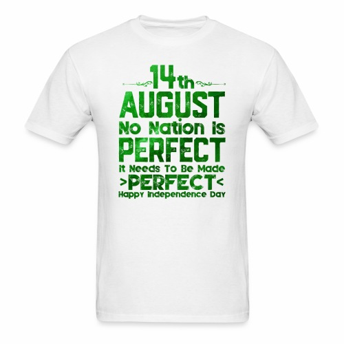 14th August Independence Day - Men's T-Shirt