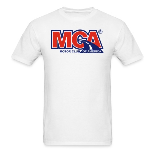 MCA_Logo_WBG_Transparent - Men's T-Shirt