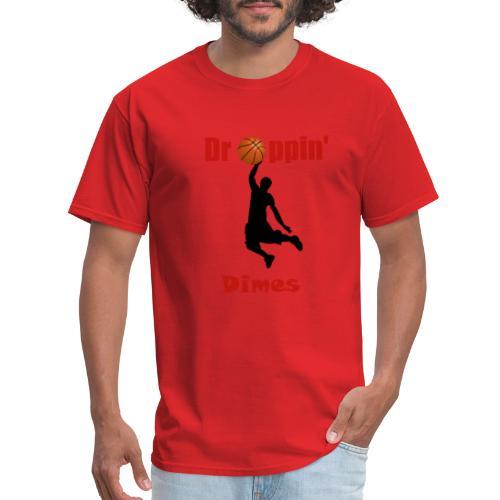 Basketball tshirt  Dropping Dimes  Dunk - Men's T-Shirt