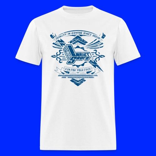 Vintage Leet Sauce Studios Crest Blue - Men's T-Shirt