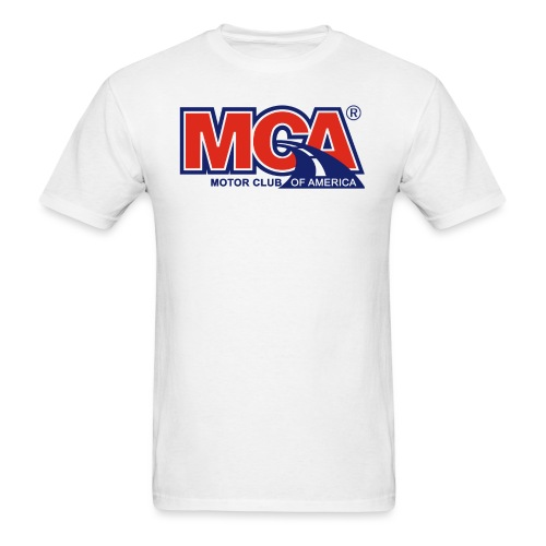 MCA_Logo_WBG_Transparent - Men's T-Shirt