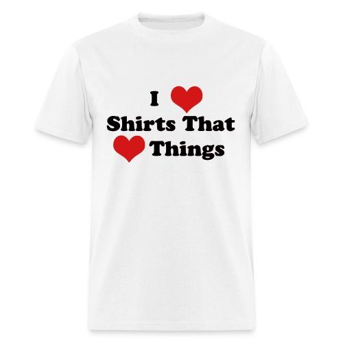 heartshirt - Men's T-Shirt