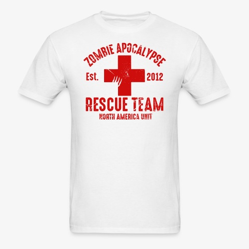 Zombie Rescue Halloween Shirt - Men's T-Shirt