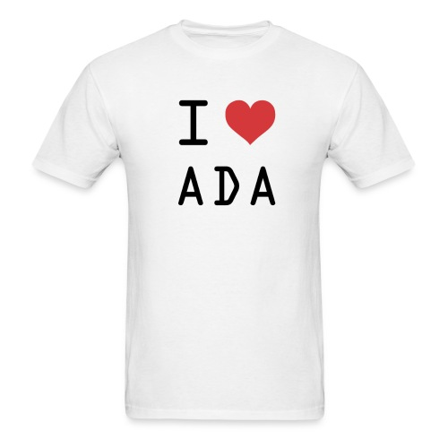 I HEART ADA (Cardano) - Men's T-Shirt