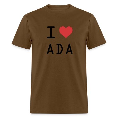 I HEART ADA (Cardano) - Men's T-Shirt
