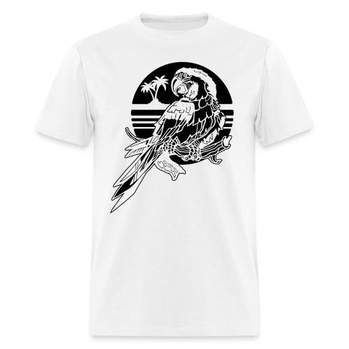 Tropical Parrot - Men's T-Shirt