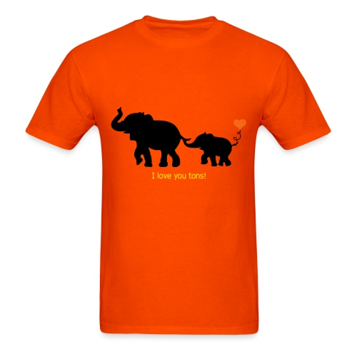 I Love You Tons! - Men's T-Shirt