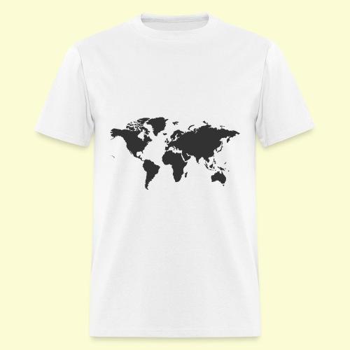 map of the world - Men's T-Shirt