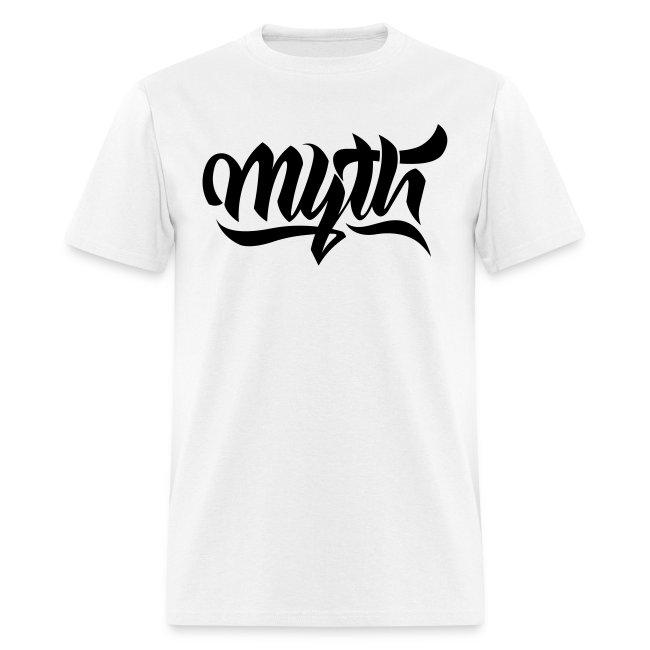 Calligraphy Black T-Shirt Mens
