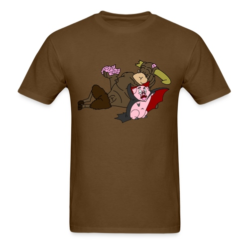 Hampire and Zombeef - Men's T-Shirt
