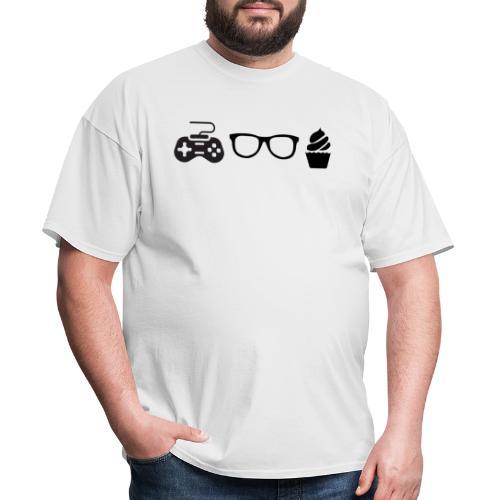 Triple G Large Logo - Black - Men's T-Shirt