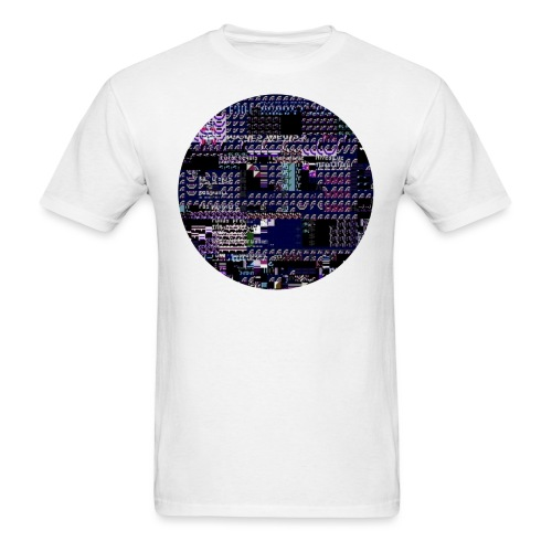 Glitch City - Men's T-Shirt