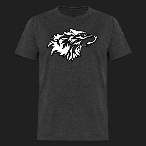 wolfepacklogowhite2 png - Men's T-Shirt