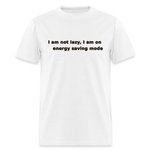 Funny Lazy T-shirt/Longsleeve - Men's T-Shirt