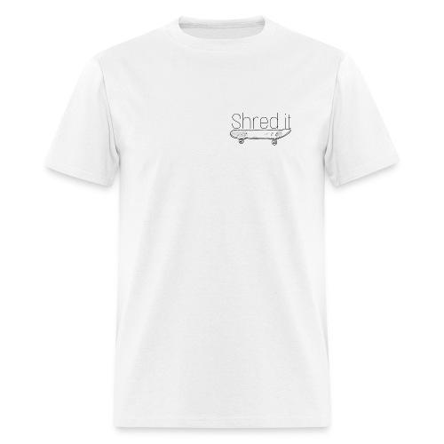 Shred it classic - Men's T-Shirt