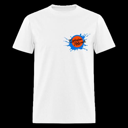 White Explosion Network Pocket Tee - Men's T-Shirt