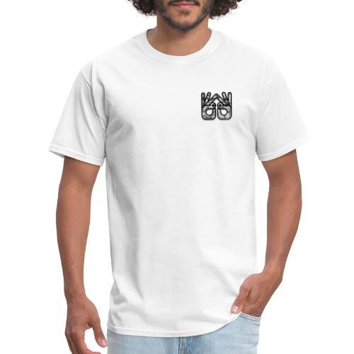 haze black and white - Men's T-Shirt