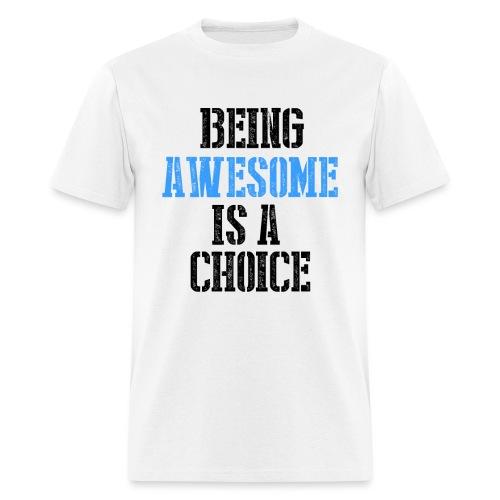 AWESOME SHIRT 3 png - Men's T-Shirt