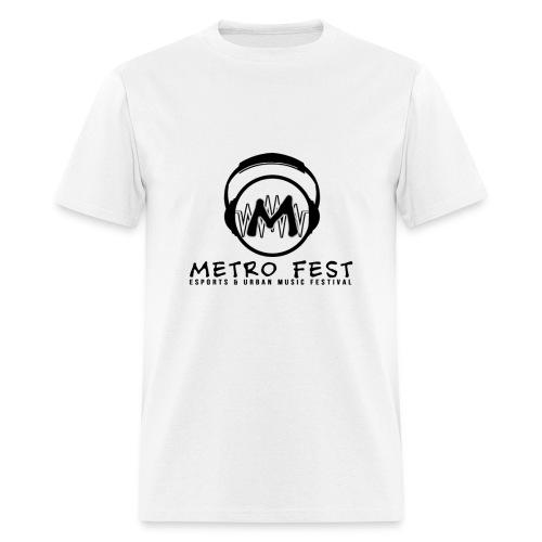 Metrofest White - Men's T-Shirt