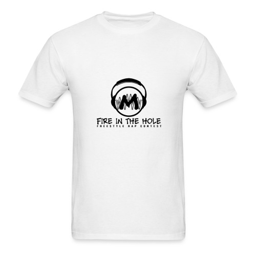 fire in hole white - Men's T-Shirt