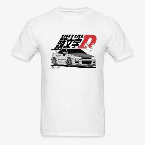 Initial-D Fall Collection: R34 - Men's T-Shirt