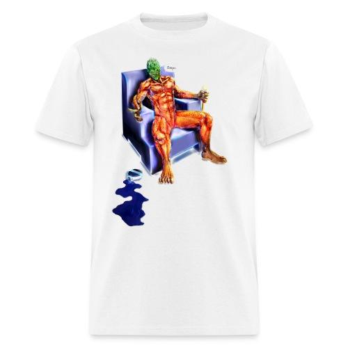 Pineapple sp00n final by Stefan Gidley.png - Men's T-Shirt