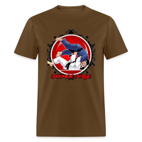 Judo Throw Tomoe Nage - Men's T-Shirt