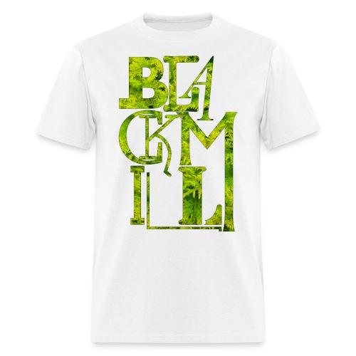 BLACKMILL large Fonts green - Men's T-Shirt