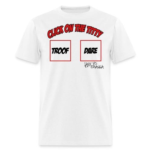 click sig - Men's T-Shirt