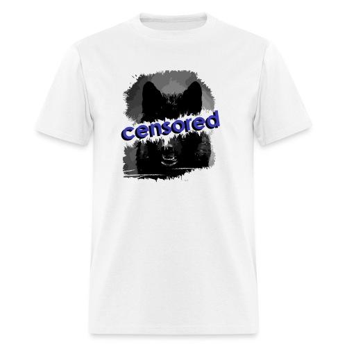 Wolf censored - Men's T-Shirt