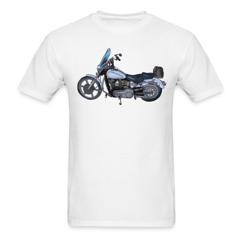 Motorcycle L - Men's T-Shirt