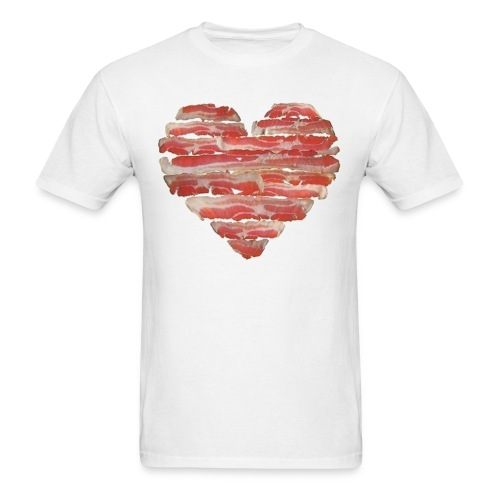BACON = LOVE - Men's T-Shirt
