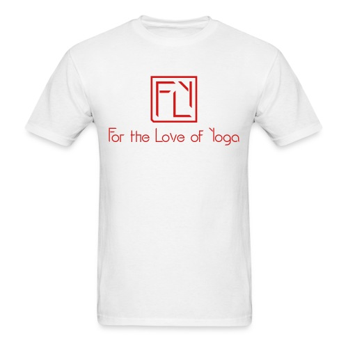 For the Love of Yoga - Men's T-Shirt