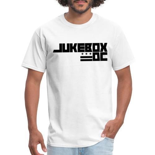JUKEBOXDC Logo Black - Men's T-Shirt