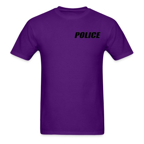 Police Black - Men's T-Shirt
