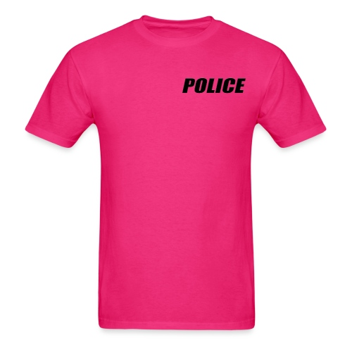 Police Black - Men's T-Shirt