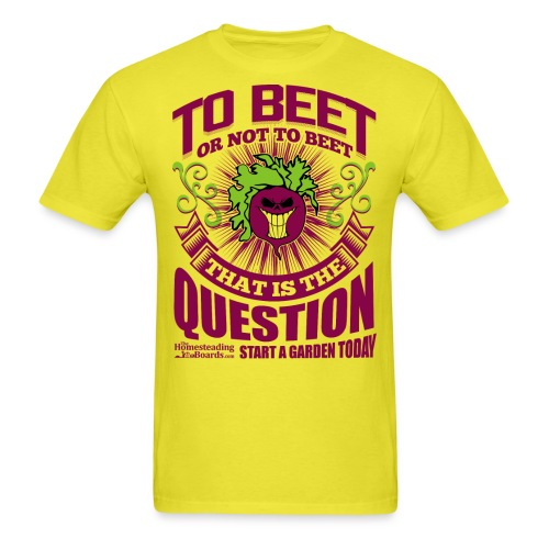 rsz_beet_print - Men's T-Shirt