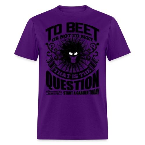 rsz_beet_printblack - Men's T-Shirt