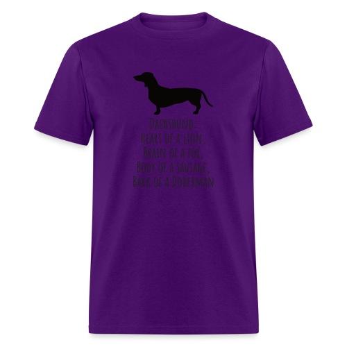 Dachshund Love - Men's T-Shirt